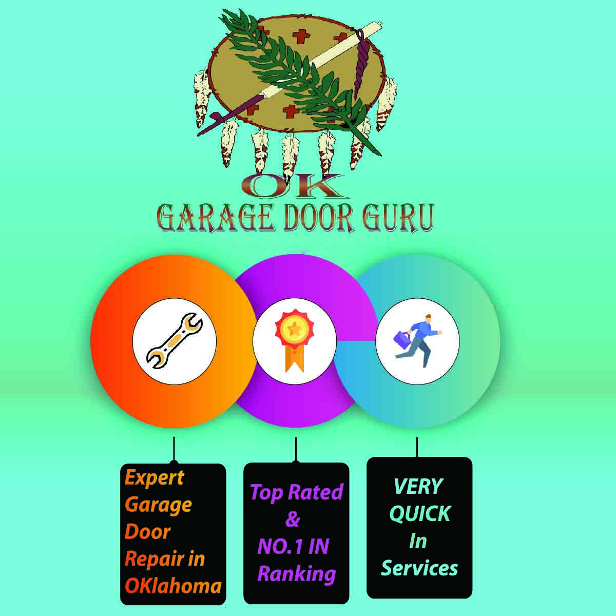 Broken Garage Door Spring Repair Sand Springs