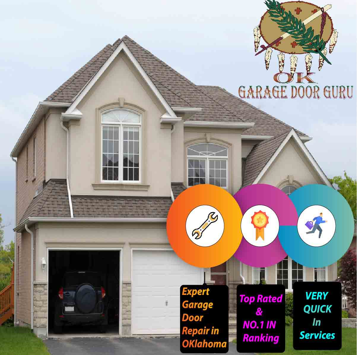 Emergency Garage Door Repair in Fair Oaks